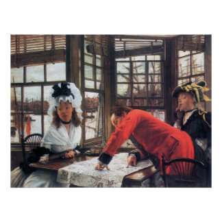 An interesting story by James Tissot Posters