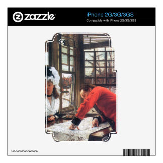 An interesting story by James Tissot Decal For The iPhone 3