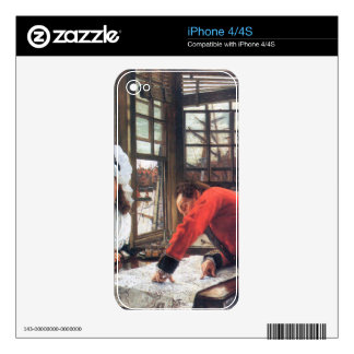 An interesting story by James Tissot Decals For iPhone 4S