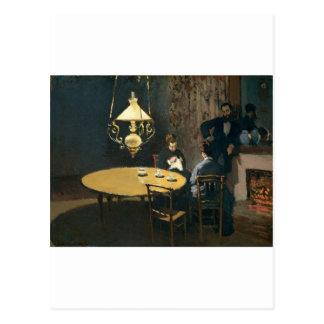 An Interior after diner (1868-1869) Postcard