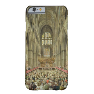 An Interior View of Westminster Abbey on the Comme Barely There iPhone 6 Case