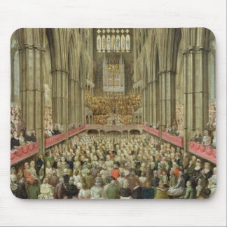 An Interior View of Westminster Abbey on the Comme Mouse Pad