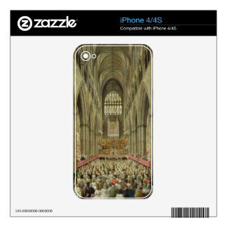 An Interior View of Westminster Abbey on the Comme Decal For The iPhone 4S