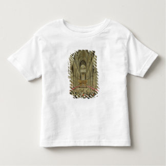 An Interior View of Westminster Abbey on the Comme Toddler T-shirt