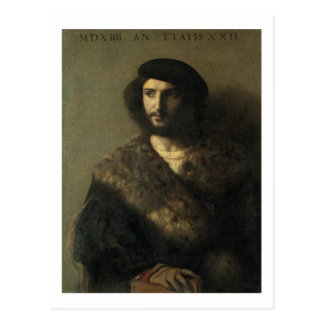 An Invalid, c.1514 (oil on canvas) Postcard