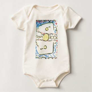 An Invention An Interpretation Worlds of Pattern.j Baby Bodysuit