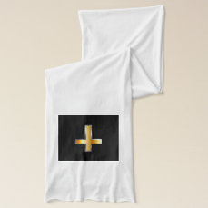 An inverted cross- The Cross of Saint Peter Scarf