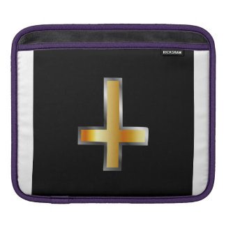 An inverted cross- The Cross of Saint Peter Sleeve For iPads