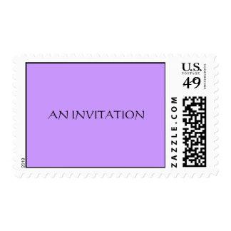 AN INVITATION Postage