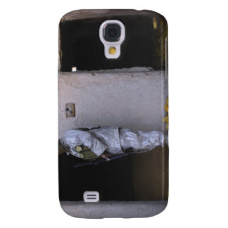 An Iraqi army soldier checks a storage room Galaxy S4 Covers