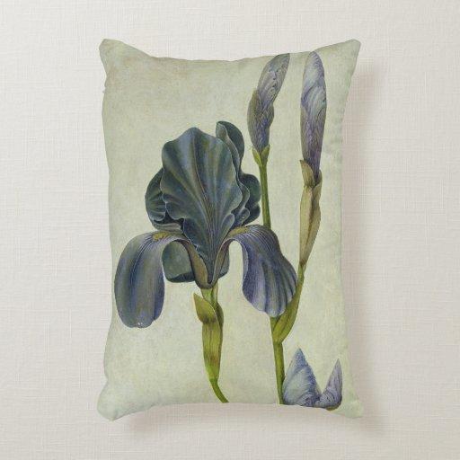 An Iris Accent Pillow