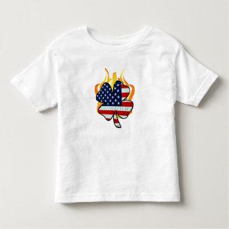 An Irish American Firefighter Toddler T-shirt