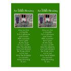 An Irish Blessing Bookmark Postcard
