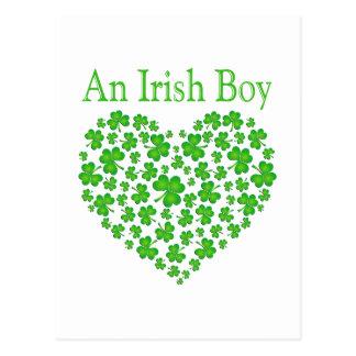 An Irish Boy Postcard