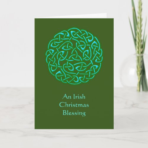 An Irish Christmas Blessing... Christmas Card