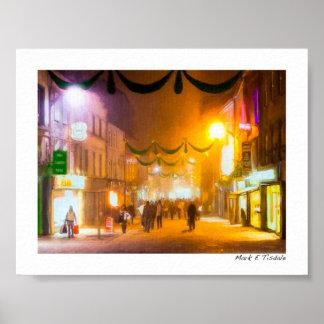 An Irish Christmas In Galway - Mini Poster