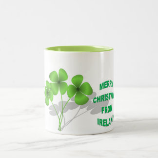An Irish Christmas Two-Tone Coffee Mug