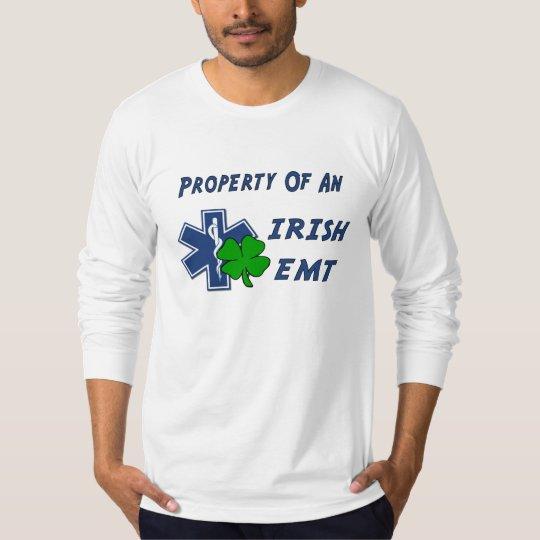 An Irish EMT Property T-Shirt