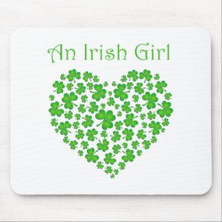 An Irish Girl Mouse Pad
