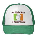An Irish Man Is Never Wrong Hats