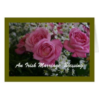 An Irish Marriage Blessing Card