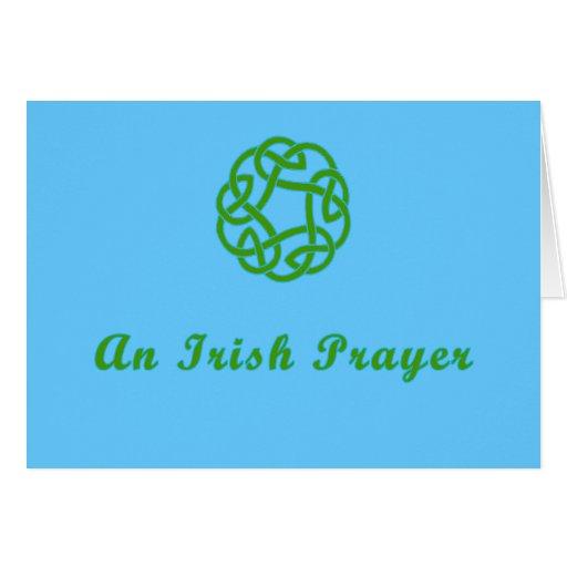 An Irish Prayer Saint Patricks Card