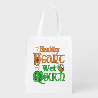 An Irish Toast AITX Reusable Grocery Bag