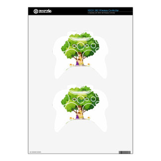 An island with a mother and a daughter xbox 360 controller skins