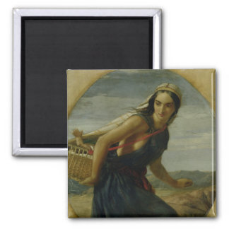 An Israeli Mother, 1857/1860 2 Inch Square Magnet