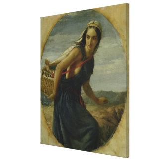 An Israeli Mother, 1857/1860 Canvas Print