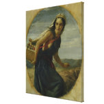 An Israeli Mother, 1857/1860 Gallery Wrap Canvas
