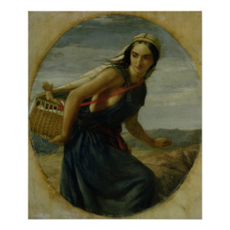 An Israeli Mother, 1857/1860 Poster