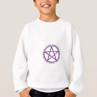 an it harm none theban woven pentacle sweatshirt