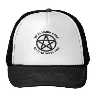 an it harm none trucker hats