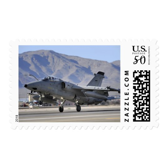 An Italian Air Force AMX fighter Postage