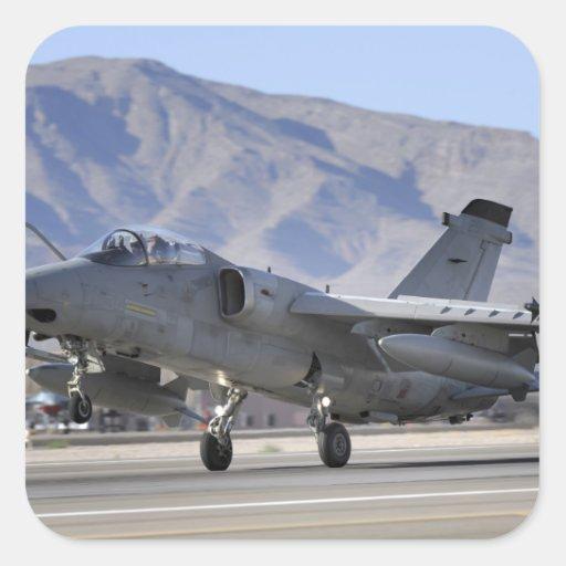 An Italian Air Force AMX fighter Sticker