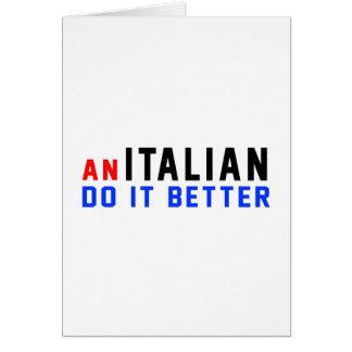 An Italian Do It Better Cards