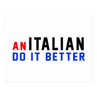 An Italian Do It Better Post Card