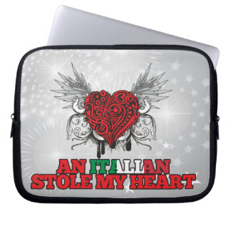 An Italian Stole my Heart Laptop Computer Sleeves
