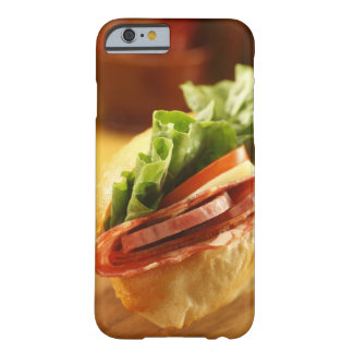 An Italian sub sandwich with Barely There iPhone 6 Case