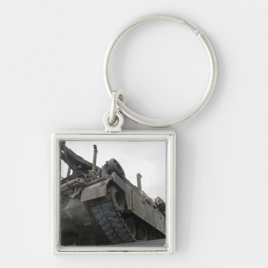 An M88A2 Hercules Recovery Vehicle Keychain