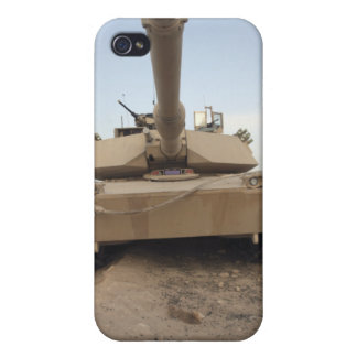 An M-1A1 Main Battle Tank iPhone 4 Cases