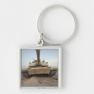 An M-1A1 Main Battle Tank Keychain
