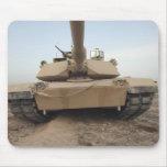 An M-1A1 Main Battle Tank Mouse Pad