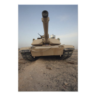 An M-1A1 Main Battle Tank Poster