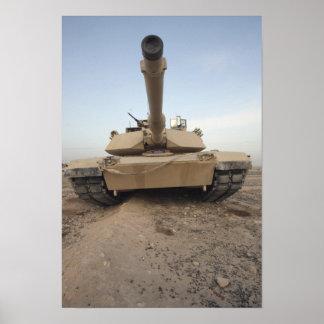 An M-1A1 Main Battle Tank Poster