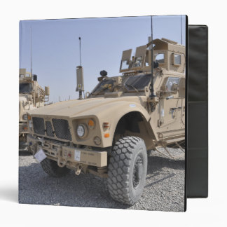 An M-ATV Mine Resistant Ambush Protected vehicl 2 3 Ring Binder