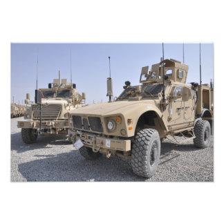 An M-ATV Mine Resistant Ambush Protected vehicl 2 Photo Print