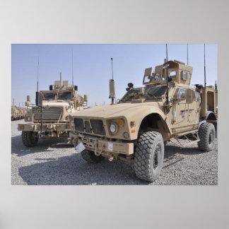 An M-ATV Mine Resistant Ambush Protected vehicl 2 Poster