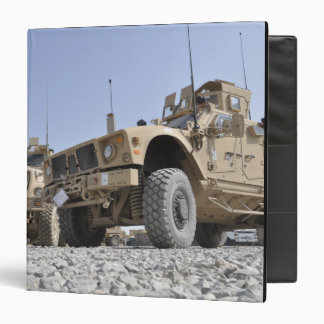 An M-ATV Mine Resistant Ambush Protected vehicl Binder